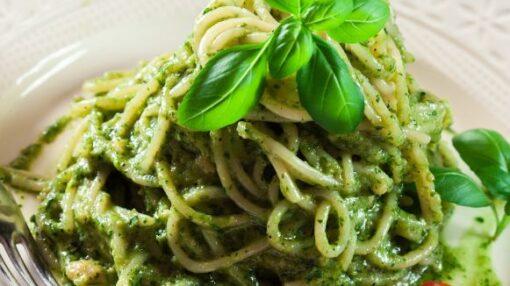 Spaghetti Pesto Genovese