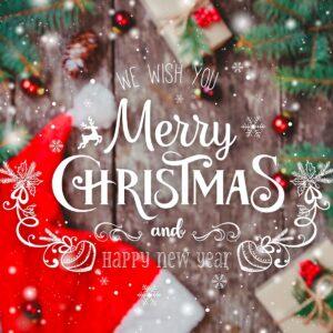 Kerstfeest giftcard