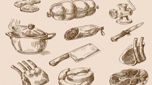 Italiaanse vleesgerechten