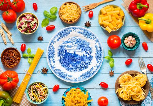 De meest bekende Italiaanse soorten pasta – en vormen – over de hele wereld