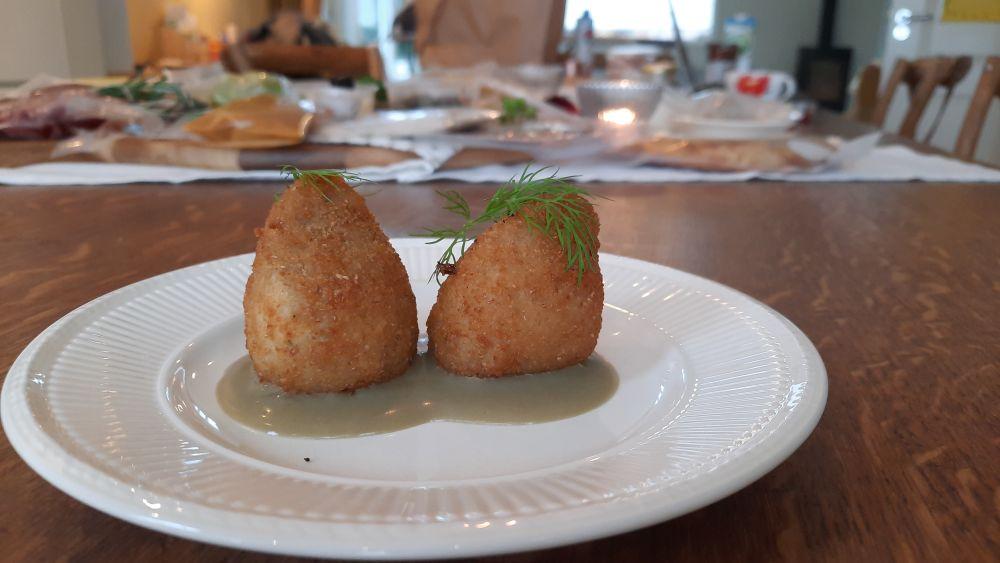 Arancini Siciliani -Siciliaanse bitterballetjes