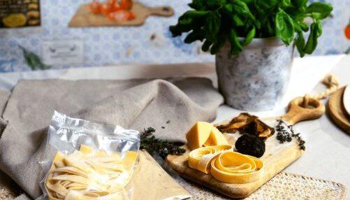 pappardelle porcini en truffel kit